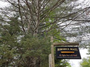Hornbeck sign
