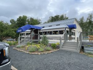 Exterior of the Mountain Diner
