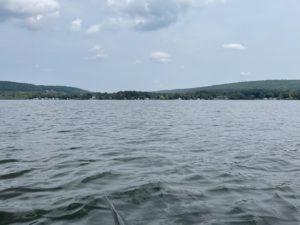 Lamoka Lake view