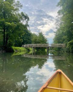 green lakes footbridge