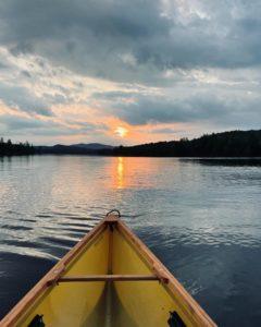 Sunset at Lake Durant