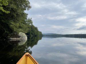 Facing northeast on Fawn Lake