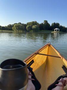 Coffee and Canoe