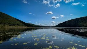 View across Labrador Pond